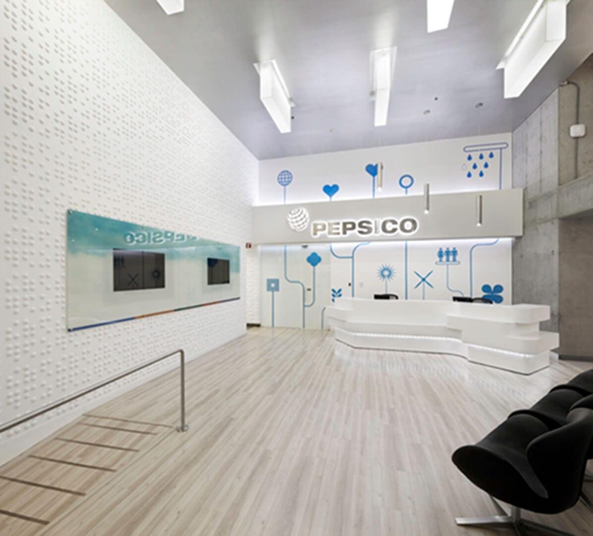 Desarrollo integral de los nuevos laboratorios de PepsiCo