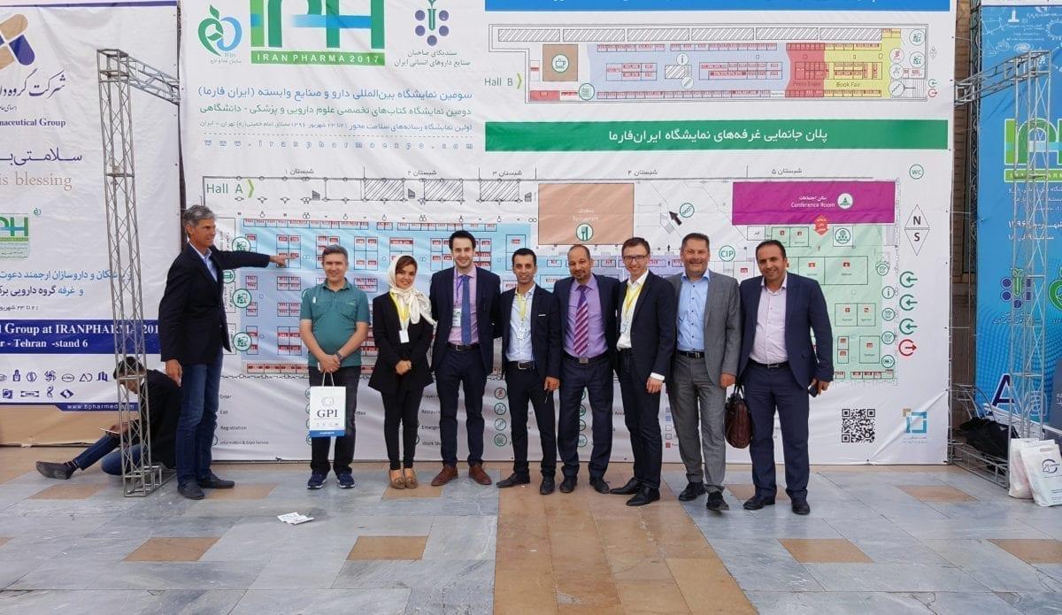 HIB expone en Iranpharma
