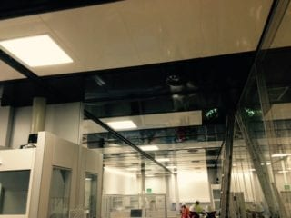 Laboratory technical ceilings