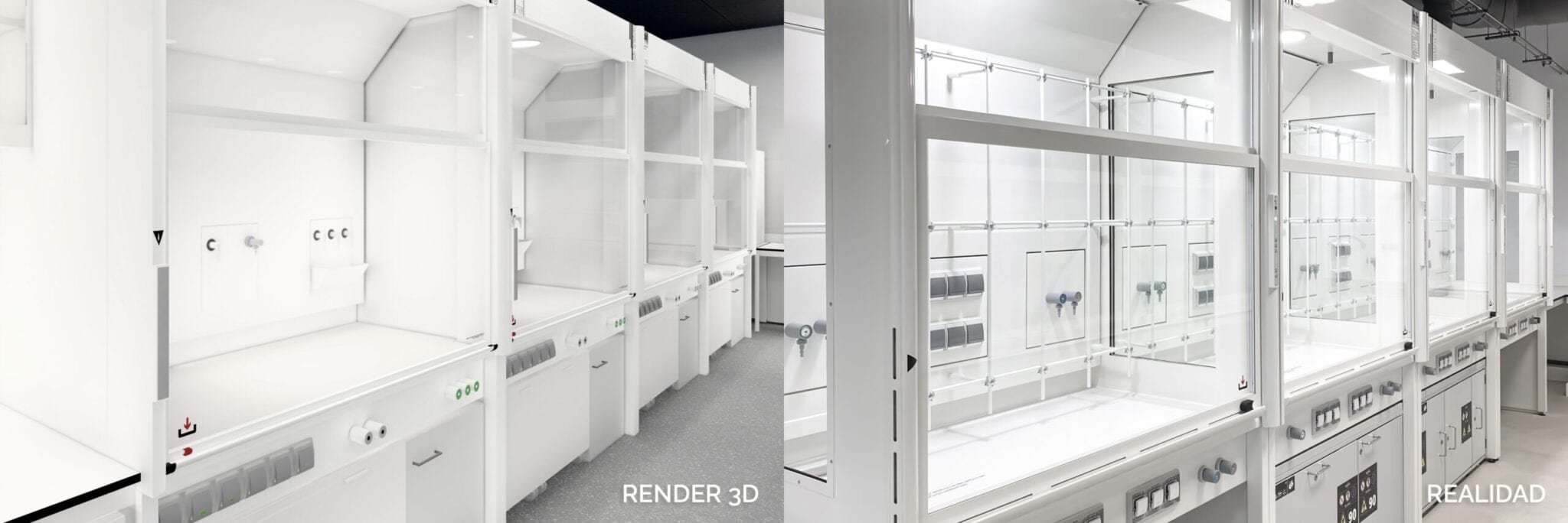 RENDER 3D VS REALIDAD